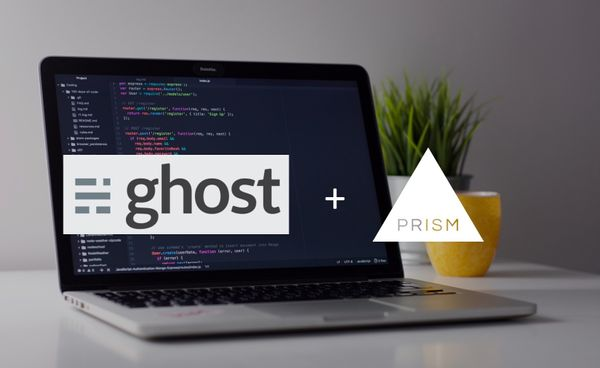 Easy Code Highlighting in Ghost with Prism